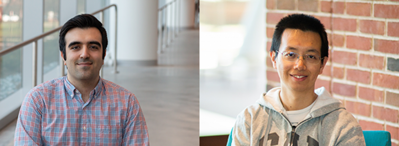 Descriptive image for Soheil Benezhad and Yuan Su awarded Google Ph.D. Fellowships