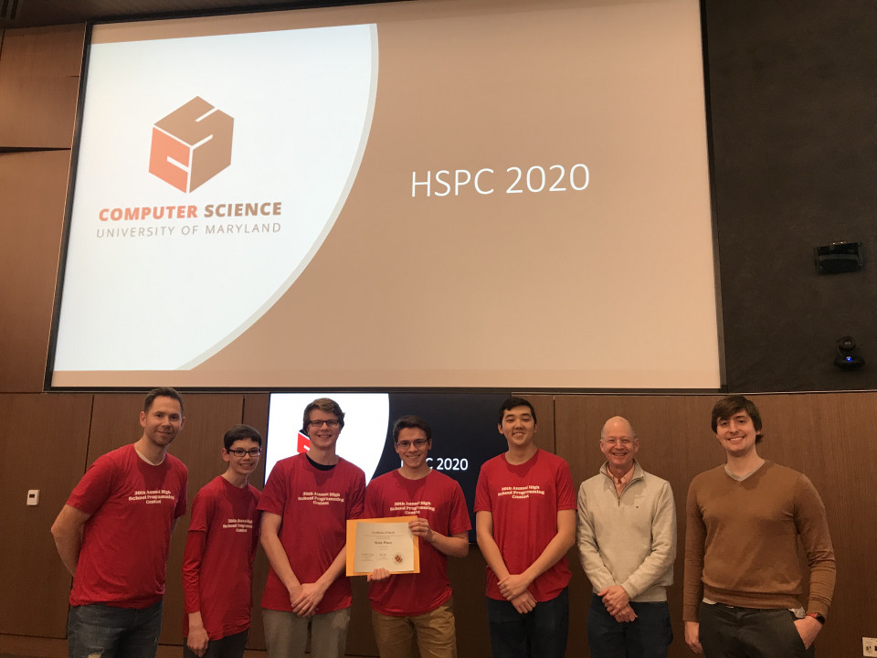 Descriptive image for Department Hosts 30th  High School Programming Contest