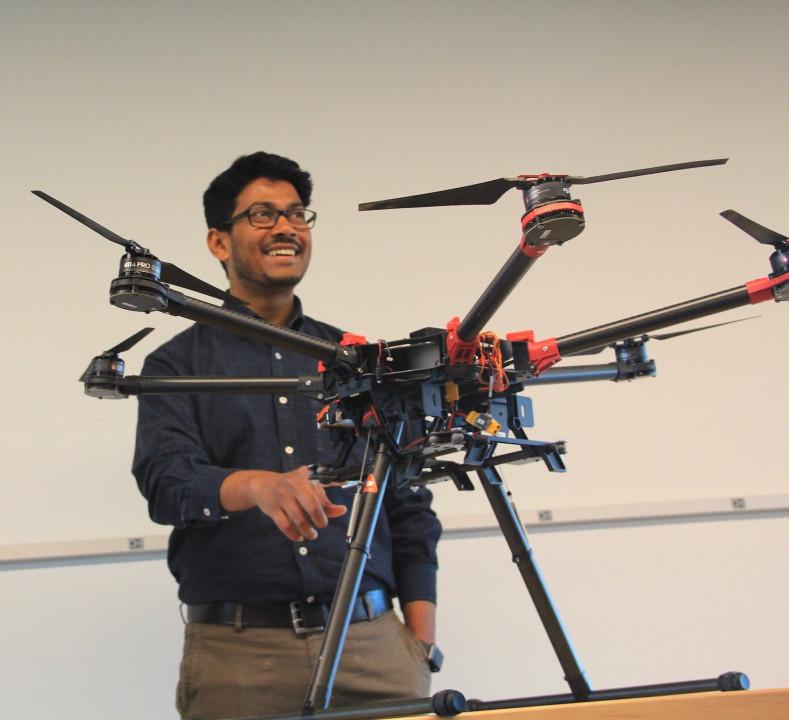 Descriptive image for Pratap Tokekar Receives NSF CAREER  Award