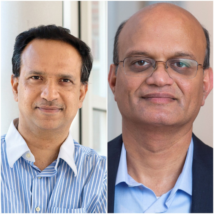 Descriptive Image for Dinesh Manocha and Aravind Srinivasan Named Distinguished University Professors