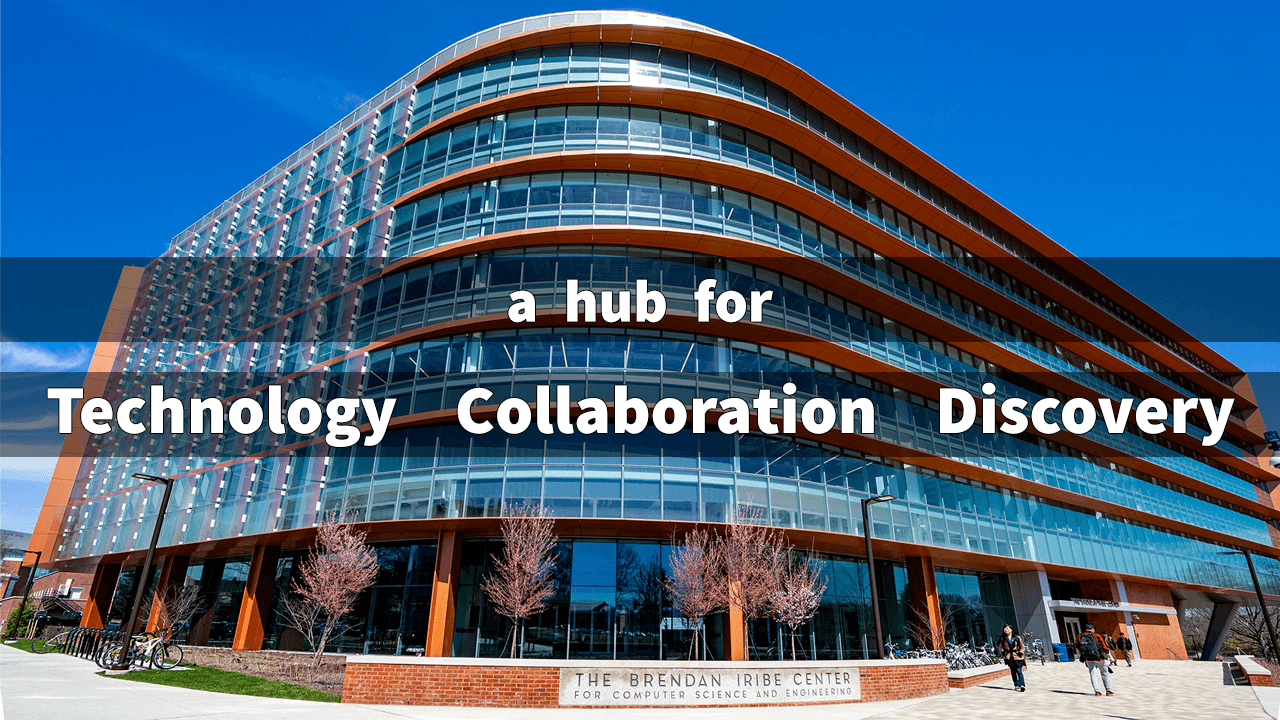 A Hub for Technology, Collaboration, and Discovery Image of Iribe Center Exterior