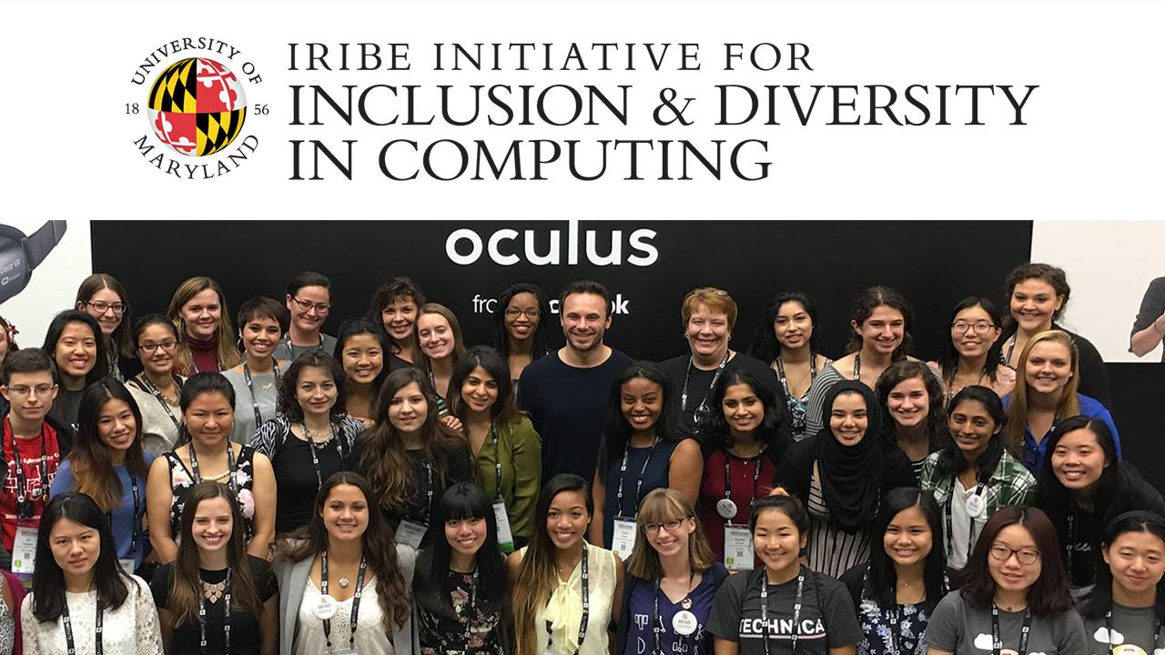 The Iribe Initiative for Inclusion and Diversity in Computing Descriptive Image