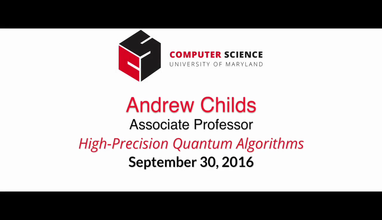 Video title card for 2016 Colloquium Childs