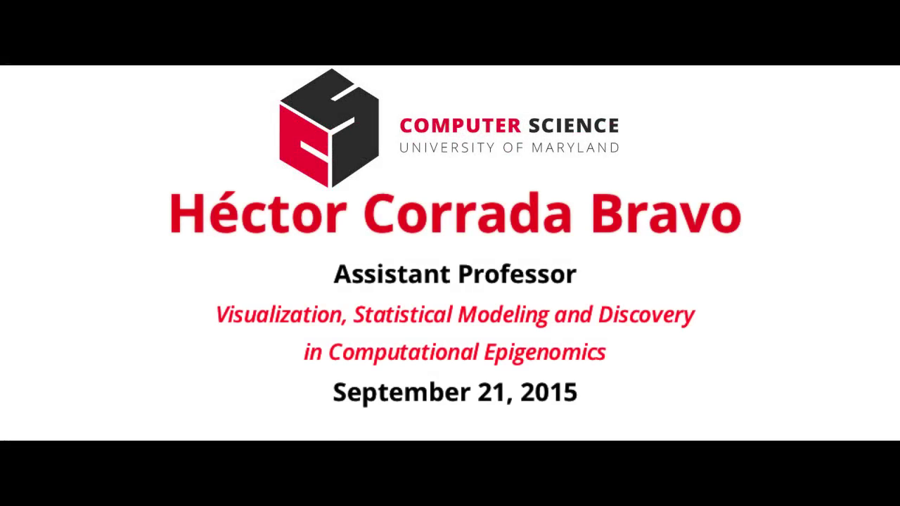 Video title card for 2015 Colloquium Corrada Bravo