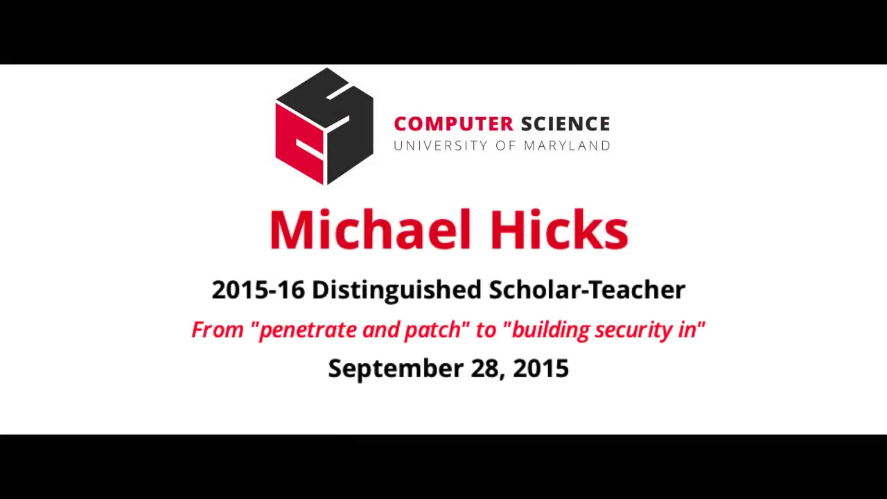 Video title card for 2015 Other Hicks