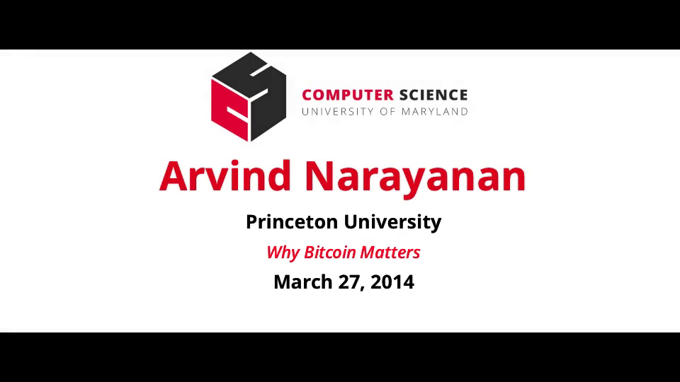 Video title card for Other Narayanan