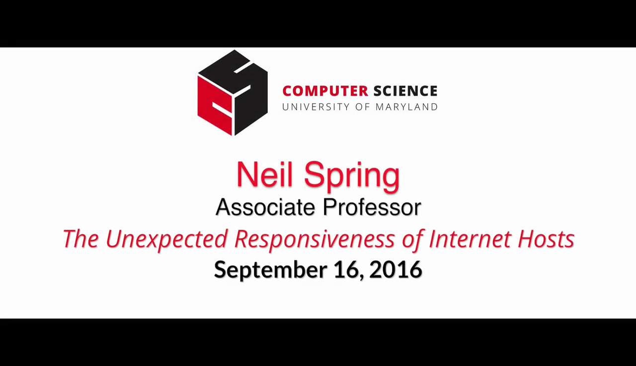 Video title card for 2016 Colloquium Spring