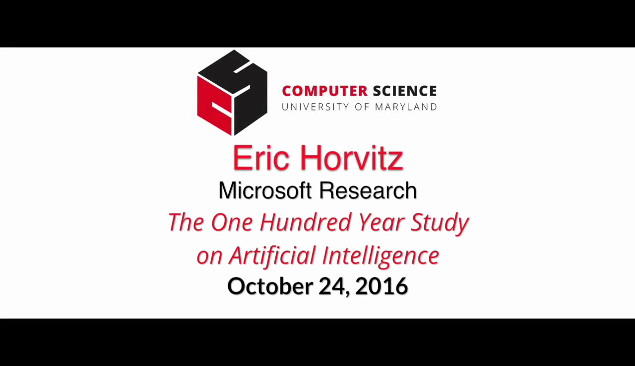Video title card for 2016 Visitor Horvitz