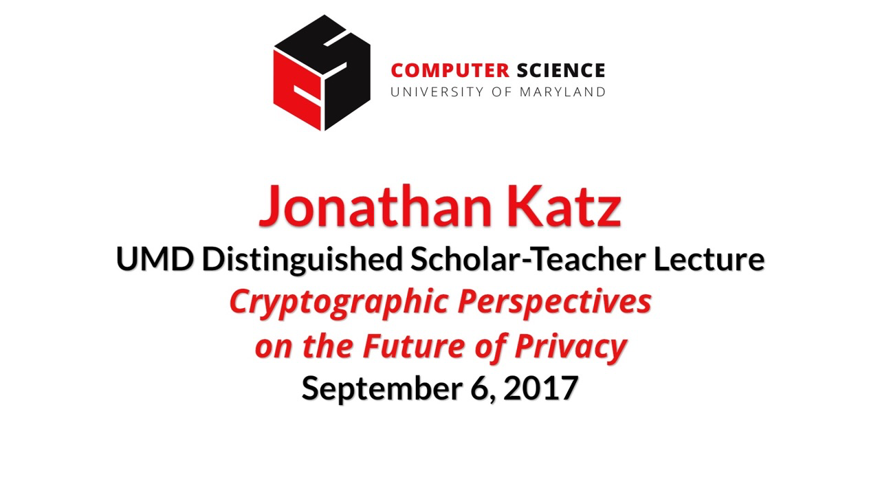 Video title card for 2017 Other Katz Dist Lecture
